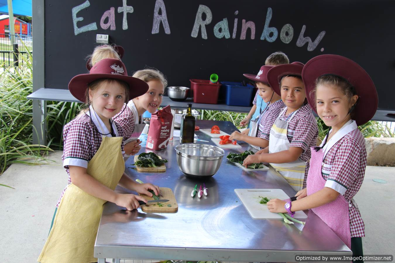 Healthy choices for school children