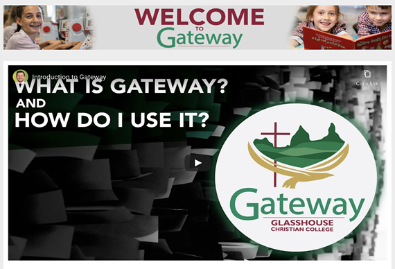 Gateway - Learning from home