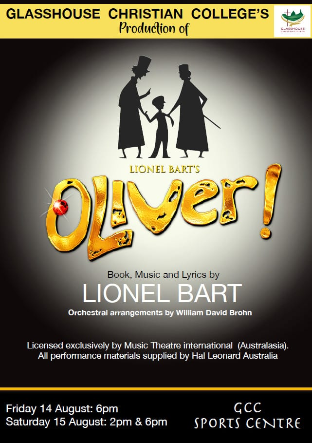 OLIVER Musical Production - GCC Sunshine Coast 2020